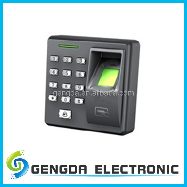 professional high security RS485 interface biometric fingerprint time and attendance software for two office doors entry
