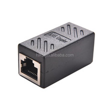RJ45 Female to Female Network LAN Connector Adapter Coupler Extender RJ45 Ethernet Cable Join Extension Converter Coupler
