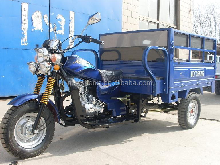 200CC Motorized Tricycle for Passenger with Bench Tent
