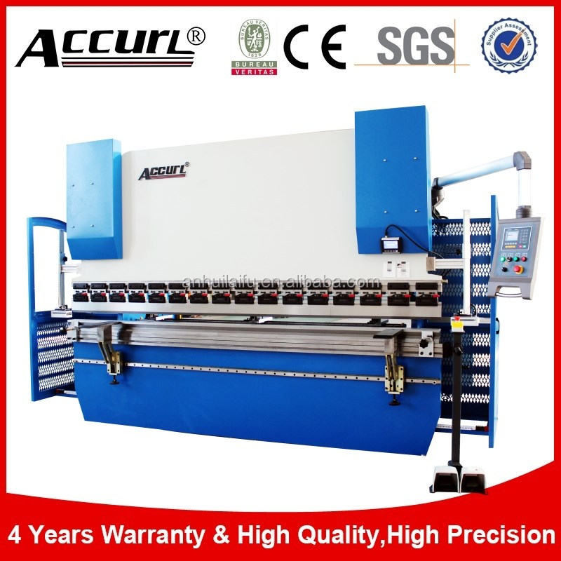 New Accurl 100T 3200mm Hydraulic Press Brake second hand plate bending machine