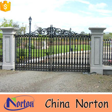 Shijiazhuang Norton cheap garden ornaments iron gates wrought iron gates NT-WIB026