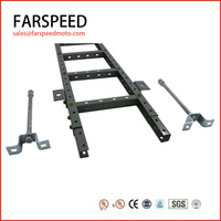 U- type steel ladder types perforated cable tray price