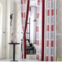 linen fabric joint window curtain, Beautiful 3 Color Joint Arab Style Curtains For Home