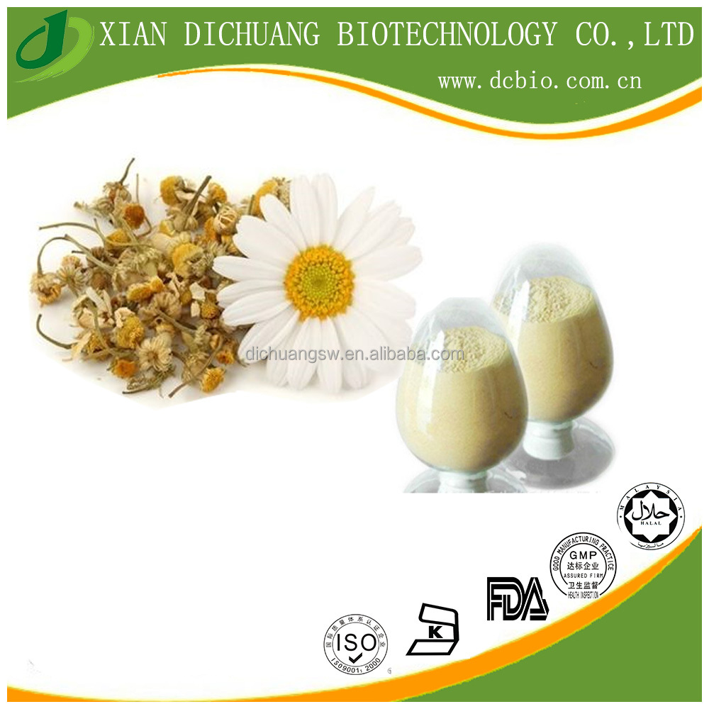 Natural Chamomile Extract Apigenin 10%-98% Polyphenols 5%