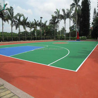 Basketball Courts Rubber Flooring, Outdoor Rubber Flooring For Sports Court -FN-D150905