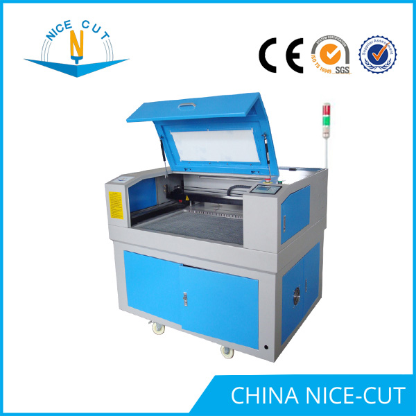 NC-E 6090 laser engraving machine price for glass bottle with rotary