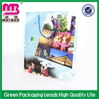 professional oem/odm lucky four-leaf clover led shining paper bag