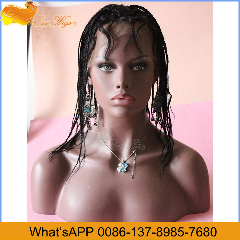 Wholesale Factory Price Braided Wigs For Black Men 8-24Inch In Stock