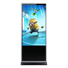 55 inch Information IR Touch Kiosk Advertising LCD