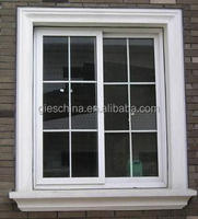Aluminum Window grill Design photo for villa projects