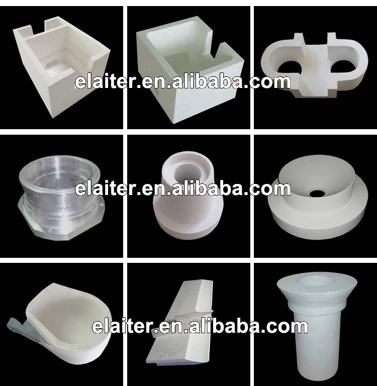 Aluminium silicate ceramic trough lining & distributing frame a feeder/feeding plate/distribution plate