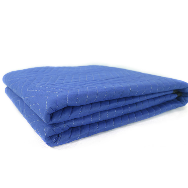 Wholesale hot sale MQ029 Blue Non Woven Furniture Moving Blanket