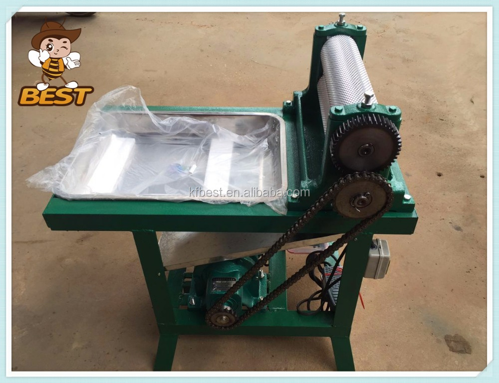 Best quality Beekeeping equipment bees wax roller / electric beeswax foundation machine