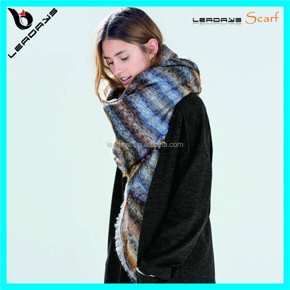 fringe new brand big size unique wholesale scarf