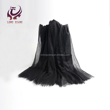 High Quality Wholesale plain 100% Cashmere Scarf Shawl For Women