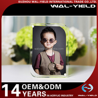 Home decoration acrylic plastic photo frame very funny
