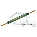 52mm Comus Normally Open High Power Industrial Elevator/Coalmine Magnetic Contact Green Glass Reed Switch