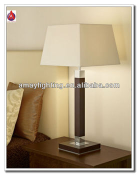 beside hand made square table lamps wood base mt4799 view square table lamps amay lighting. Black Bedroom Furniture Sets. Home Design Ideas
