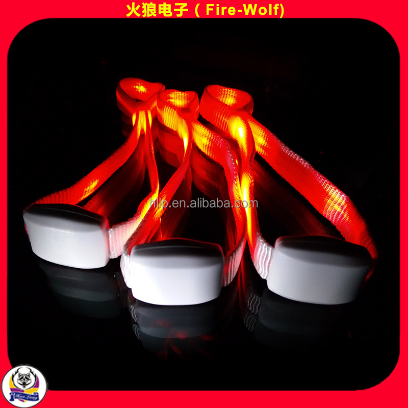 What Is Best Cheering Gifts For Party?LED Bracelets Radio Control LED Wristband 15Colors