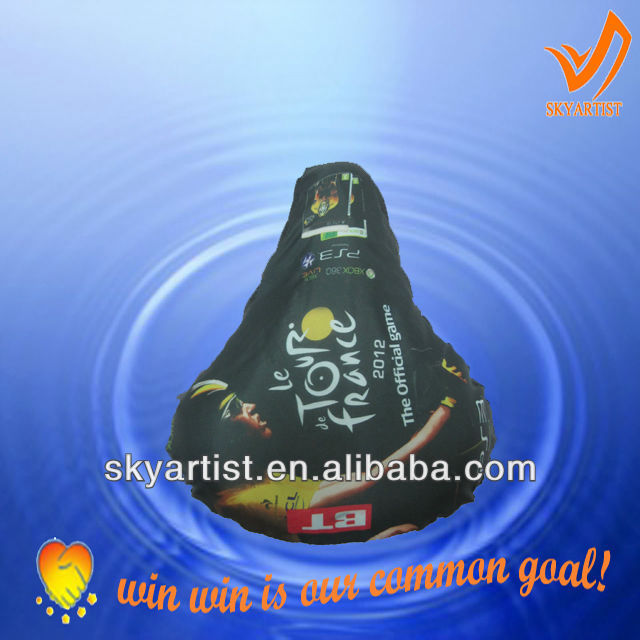 advertised sublimation bike seat cover and sublimation seat covers