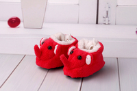 Elephant cartoon Toddler Girl Dress Shoes Baby First Walking Shoes