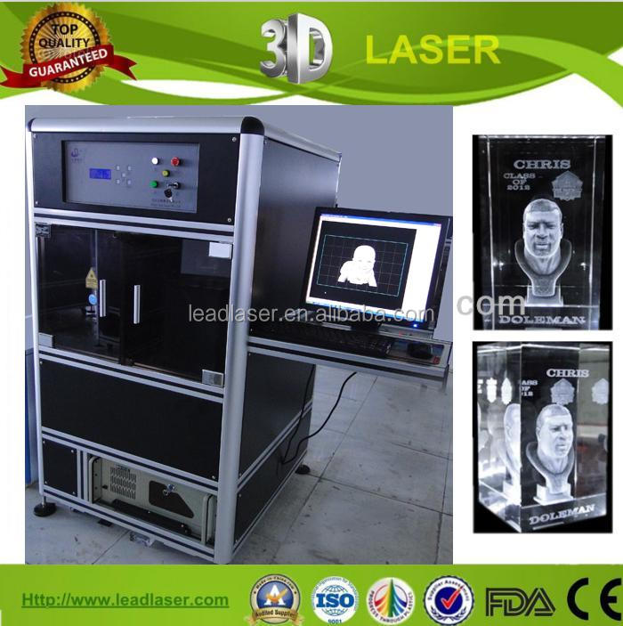 Themed Technical personalized crystal souvenirs 3d inside laser engraving machine