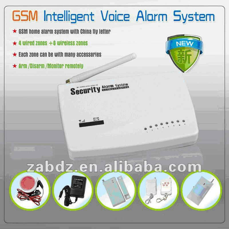 Intelligent Wireless gsm home security alarm (GSM)
