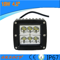high quality 18w hid xenon work light,led flood work light for all cars