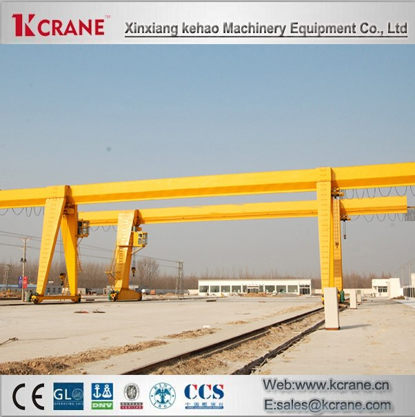 2015 Top Quality Single Girder Gantry Overhead Travelling Crane