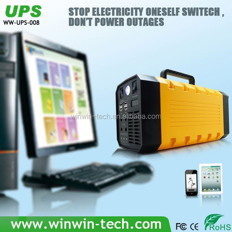 New Arrival Uninterruptible power supply used for access control system set up UPS charge any mobile and laptops