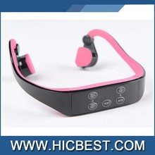 Hot sale safe healthy outdoor bone conduction bluetooth headphone headsets