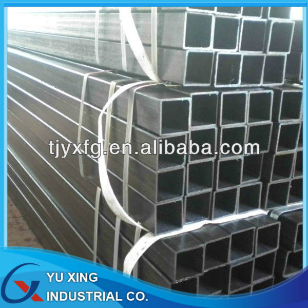 ASTM A500 cold formed steel hollow section square pipe Q195-Q345 , with OD 20*20-1000*1000mm