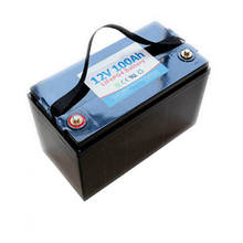 12v 100ah lifepo4 battery pack Rechargeable lithium iron phosphate Battery Pack for E-bike, Electric Bus, Golf Cart