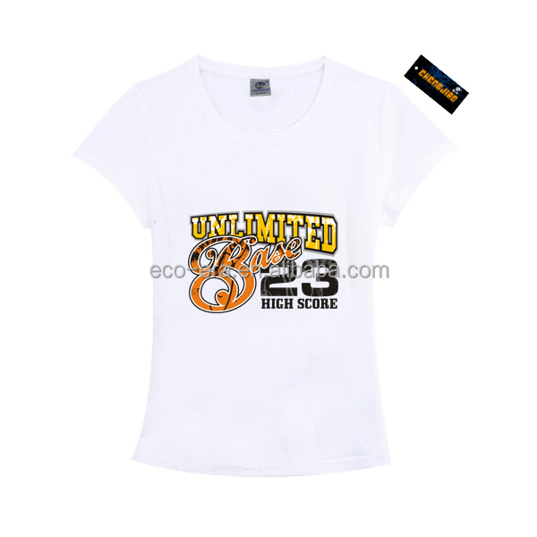 Wholesale Clothing Custom T-shirt Printing Design Ladies Fashion T-shirt Print Your Logo Alibaba China Supplier Online Shopping