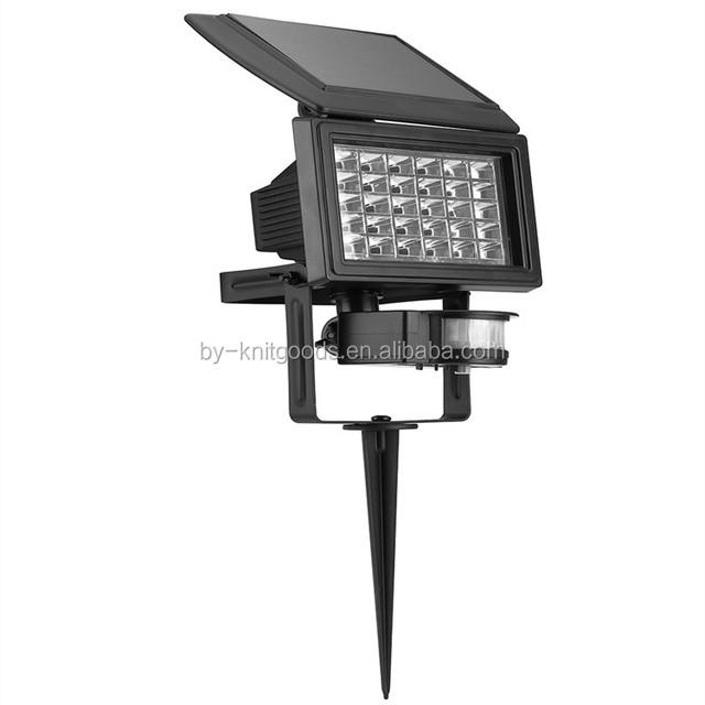 IP65 multifunction pin garden lamp with infrared sensor bali garden lamp standing solar lamp for garden