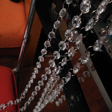Wholesale 14/16/20/24MM Acrylic Crystal Garland Hanging Bead Chains /Strands/Curtains Perfect For Weddings Decor