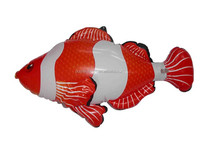 Inflatable Clown Fish, Sea Animal, Inflatable Fish Toy