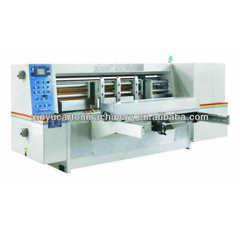 Lead edge feeding full auto rotary die cutting machine