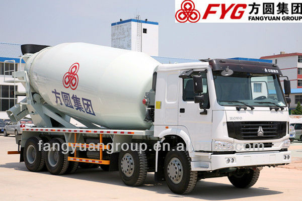 howo truck Howo chassis 10 m3 concrete truck mixer
