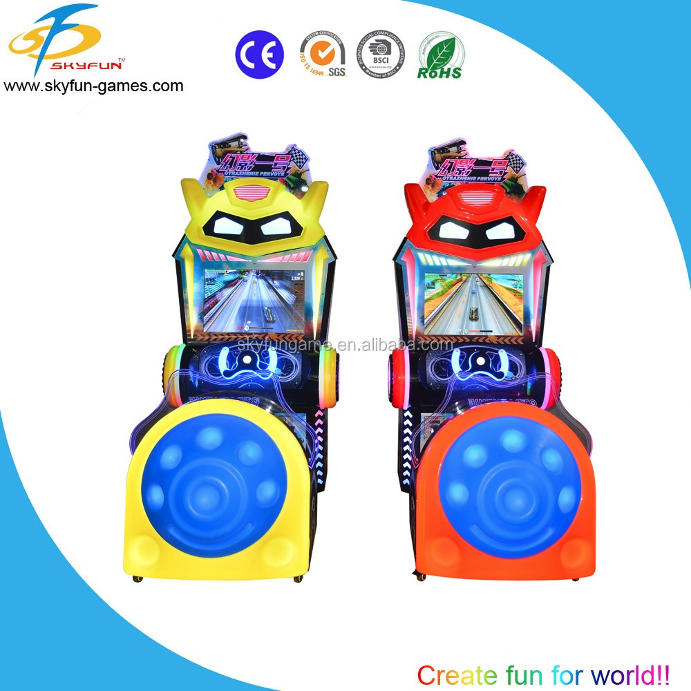 New arriving wholesale video car racing games machine play free