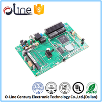 Class design single side ccl SMD wifi 3g router pcb