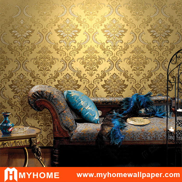 rawalpindi damascus metallic gold wallpaper