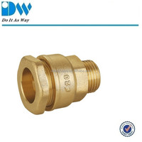Brass Compression Fitting for PE Male Coupling