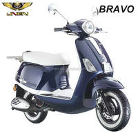 BRAVO JNEN motor Patent design 2017 fashion model gasoline scooter 50CC/125CC EEC