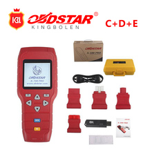2018 Original OBDSTAR X-100 x100 PRO Auto Key Programmer (C+D+E) including EEPROM adapter for IMMO+Odometer+OBD+EEPROM