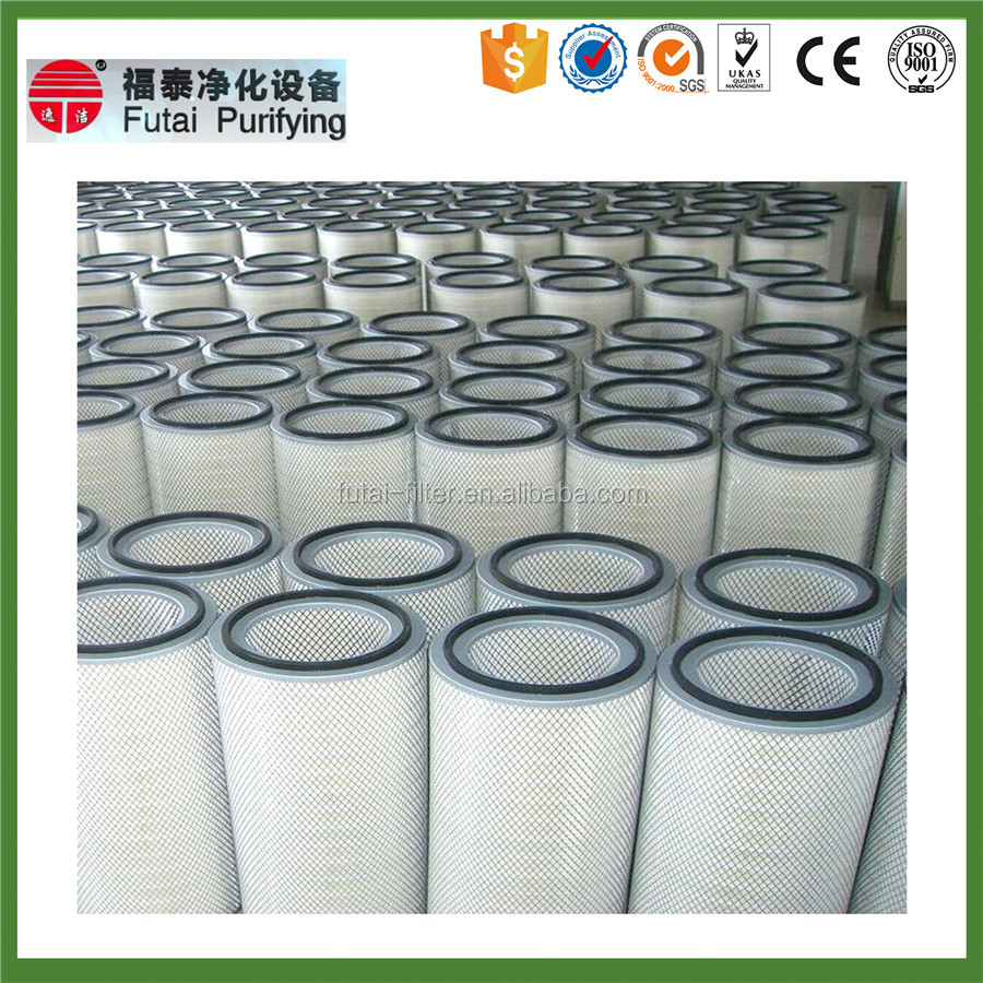 Polyester fiber dust collector donaldson replacement air filter cartridge