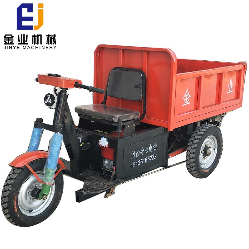 china large capacity electric tricycle with hydraulic for sale