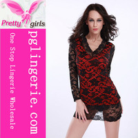 Cheap matching underwear sets baby doll tops girls sexy babydoll nighty