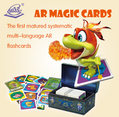 AR Magic Cards wholesale ar kids media <strong>game</strong> in toys