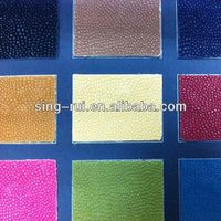 100 PU Flock Leather For Shoes